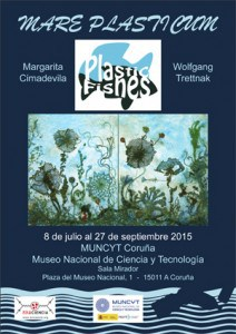 Poster Exhibition-Mare plasticum - Plastic fishes